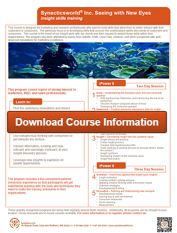 Download Seeing with New Eyes course information